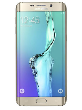 Samsung Galaxy S6 edge+ Android Lollipop,Octa Core Processor with 4GB RAM & 32GB ROM - Gold