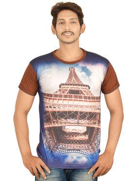Set of 5 - 3D Print T-shirts for Men