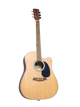 Sonido Acoustic Guitar with 2 Plectrums   SH C103 available at Naaptol for Rs.7402