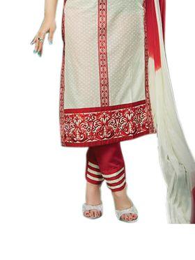 Thankar Semi Stitched  Cotton Embroidery Dress Material Tas277-9208