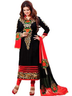 Thankar Semi Stitched  Cotton Embroidery Dress Material Tas277-9214