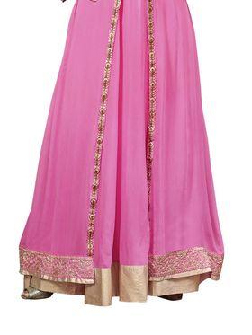 Thankar Semi Stitched  Georgette Embroidery Dress Material Tas278-14019