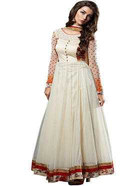 Thankar Semi Stitched  Georgette Embroidery Dress Material Tas286-5066