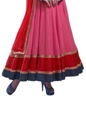 Thankar Semi Stitched  Georgette Embroidery Dress Material Tas298-5097