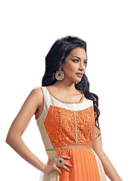 Thankar Semi Stitched  Georgette Embroidery Dress Material Tas298-5099