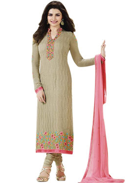 Thankar Semi Stitched  Pure Georgette Embroidery Dress Material Tas299-3212