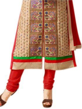 Thankar Embroidered Cotton Semi-Stitched Suit� -Tas337-1555
