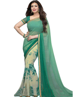 Thankar Embroidered Georgette Saree -Tds132-16636