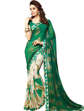 Thankar Embroidered Georgette Saree -Tds132-16646