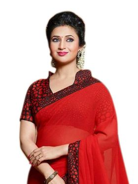 Thankar Embroidered Georgette Saree -Tds134-P-102