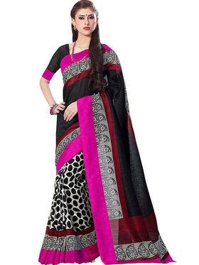 Thankar Embroidered Bhagalpuri Saree -Tds136-200