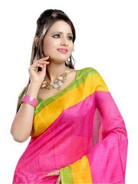 Thankar Embroidered Bhagalpuri Saree -Tds136-208