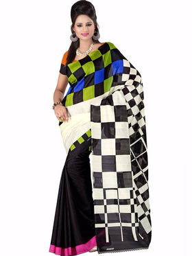 Thankar Embroidered Bhagalpuri Saree -Tds136-216