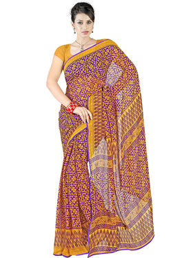 Triveni's  Georgette Printed Saree -TS40006b