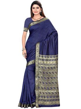 Triveni's Art Silk Zari Worked Saree -TSMRCCSR2063