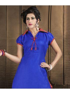 Viva N Diva Cotton Lace Work Embellished Unstitched Suit Tanaz-110
