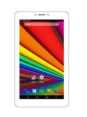 UNI N2 7 Inch Dual Sim Dual Core Android Kitkat 3G Calling Tablet - White