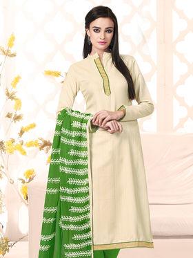 Viva N Diva Bhagalpuri Silk Embellished Unstitched Suit Utsav-5001