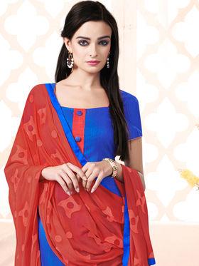 Viva N Diva Bhagalpuri Silk Embellished Unstitched Suit Utsav-5013