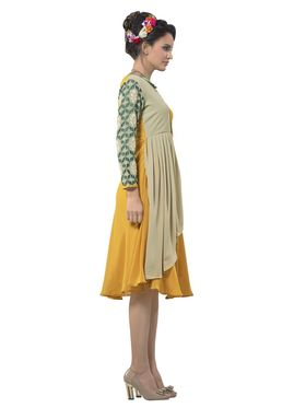 Viva N Diva Georgette Floral Embroidery Kurtis -Vnd Vol 03-1014
