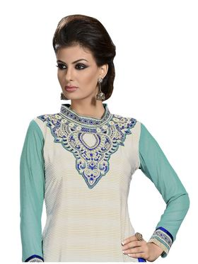 Khushali Fashion French Crepe Embroidered Dress Material -Vrvmtr6014
