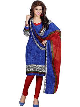 Khushali Fashion Silk Printed Unstitched Dress Material -VSPKV24423
