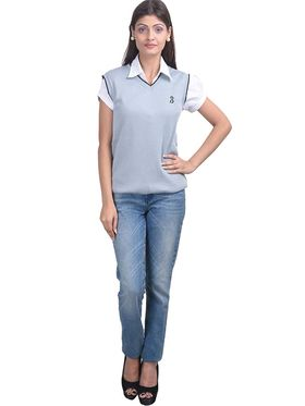 Pack of 2 Eprilla Spun Cotton Plain Sleeveless Sweaters -eprl12