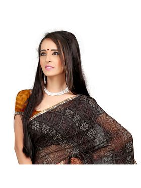 Khushali Fashion Chiffon Saree(Multi)_YNADS20134