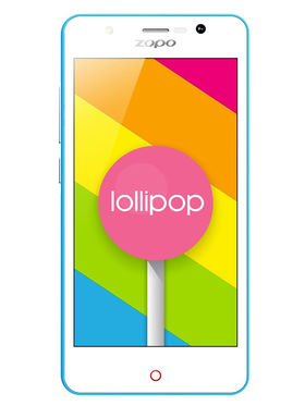 ZOPO ZP330 4.5 Inch IPS Screen Quad Core Android Lollipop 5.1 Smart Phone - Blue