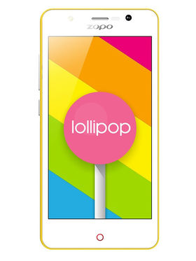 ZOPO ZP331 4.5 Inch IPS Quad Core Android Lollipop 5.1 Smart Phone - Yellow