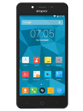 ZOPO ZP353 5.0'' HD,IPS Quad Core Android Lollipop 5.1 Smart Phone - Black