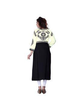 Viva N Diva Cotton Rayon Printed Kurtis -Zeesha-Vnd-2005-B