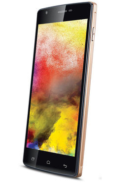 iBall Andi 5U Platino Quad Core Android Kitkat 3G Smartphone - Gold