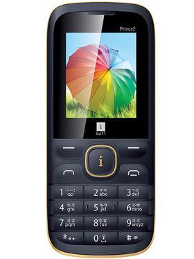 iBall Prince 2 Dual Sim Phone - Black&Gold