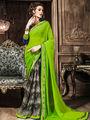 Viva N Diva Georgette  Printed Saree 10120-Tia