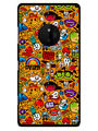 Snooky Designer Print Hard Back Case Cover For Nokia Lumia 830 - Multicolour