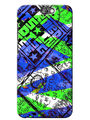 Snooky Digital Print Hard Back Case Cover For HTC One A9 - Blue
