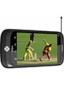 VOX 4 SIM Full Touch Screen TV Mobile-V8500 - Black