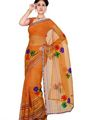 Combo of 2 Ishin Georgette Embroidered Saree-Combo-226