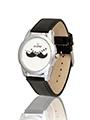 Dezine Wrist Watch for Men - White_DZ-GR041-WHT-BLK