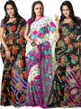 Pack of 3 Florence Printed Faux Georgette Saree - FL_Dani6_ 3_5