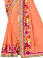 Indian Women Designer Printed Georgette Saree -Ic11222