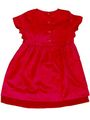 Mind The Gap  Cotton Solid Girls Frock - Red
