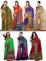 Pack of 7 Art Silk Sarees (7A3)