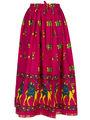 Amore Printed Cotton Skirt -Skv133P