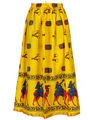 Amore Printed Cotton Skirt -Skv134Bk