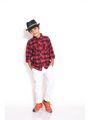 ShopperTree 100% COTTON Check Boys Shirt - Red