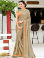 Nanda Silk Mills Embroidered Saree _VR-2200