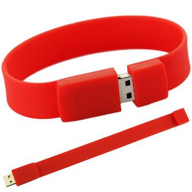 XElectron Wristband 8GB USB Flash Drive ( Red )